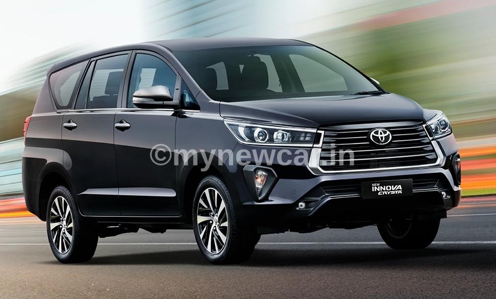 Toyota Innova Crysta Facelift