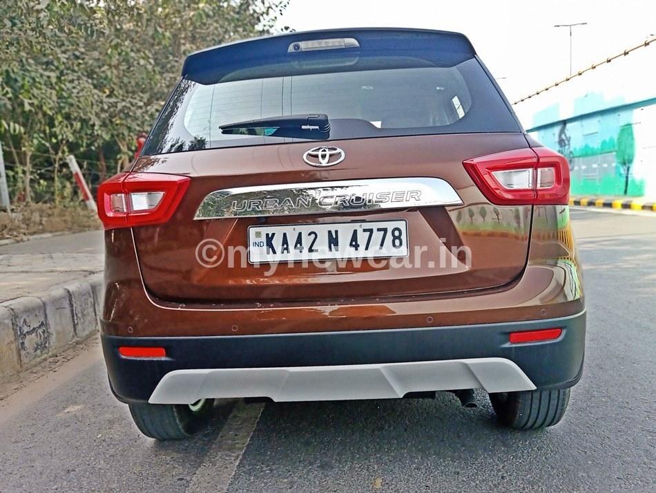 Toyota Urban Cruiser Petrol Mileage