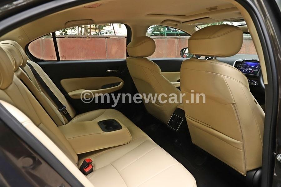 honda city 2020 rear-seat review