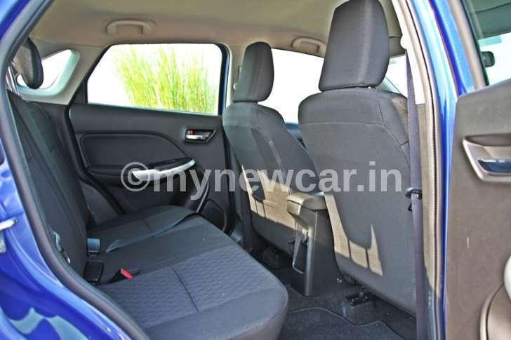 Maruti SuzukiBaleno Rear Seat
