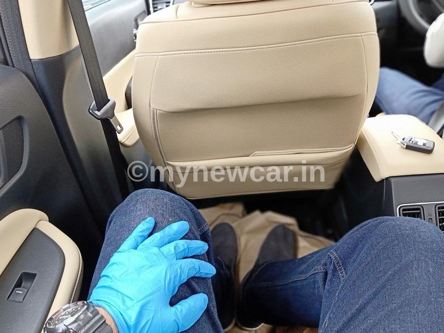 honda city 2020 rear seat review
