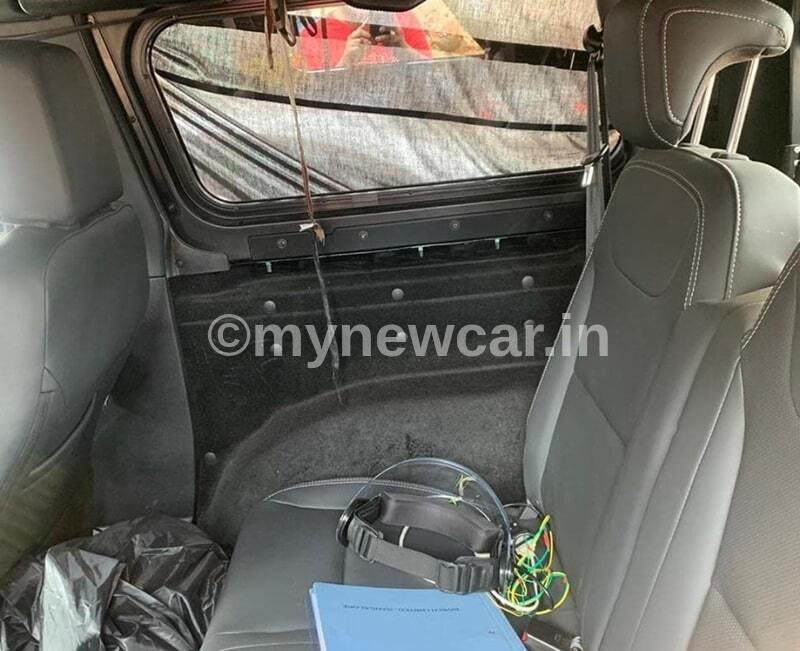 new mahindra thar 2020 interior