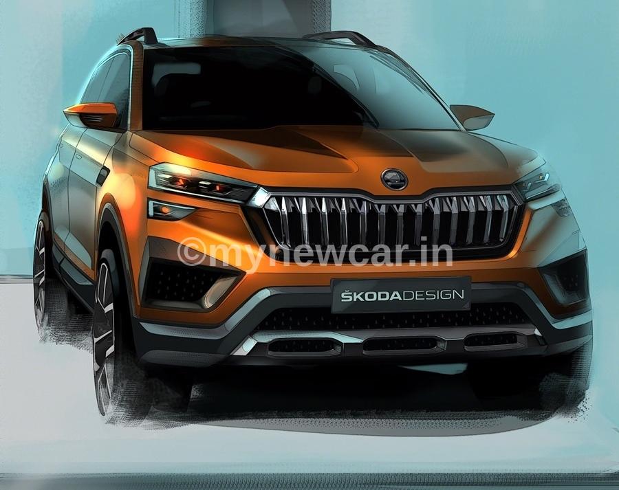 Skoda Vision IN new upcoming car in India 2021