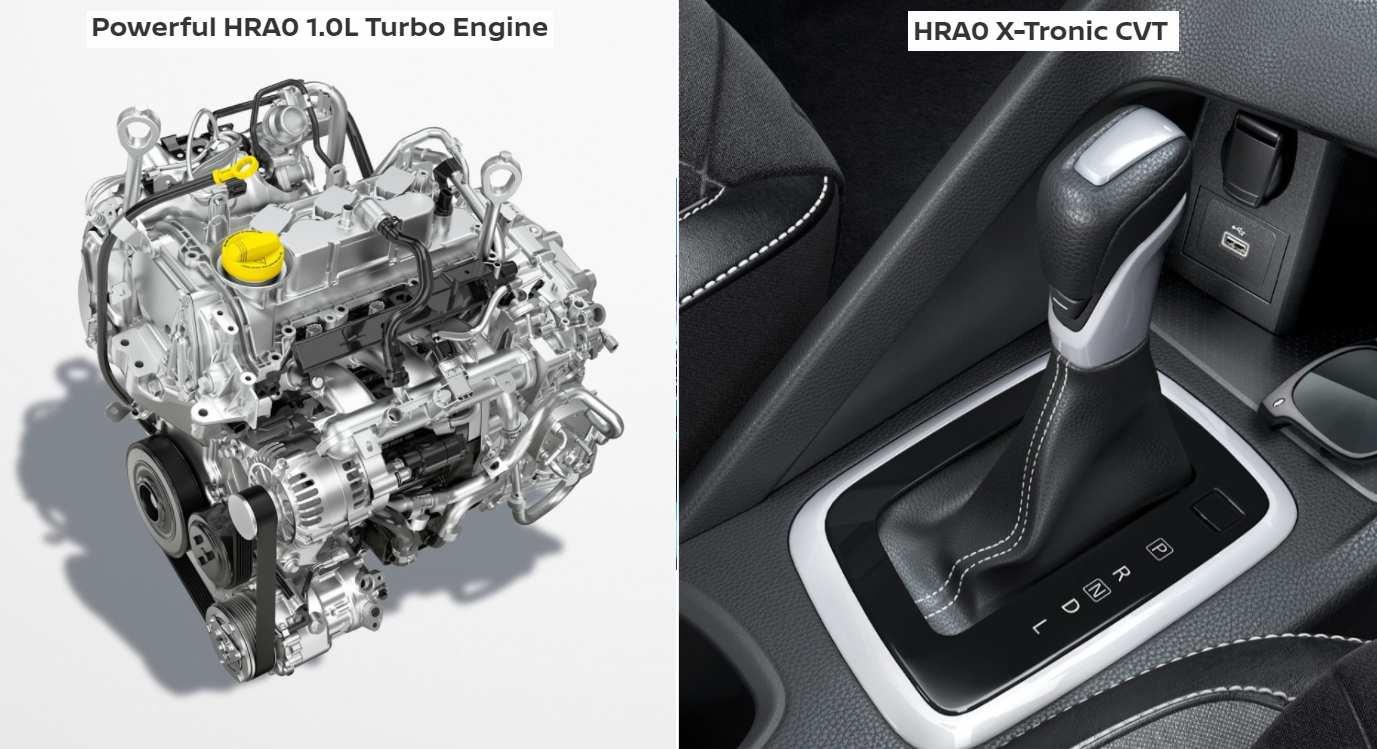 Nissan Magnite vs Renault Kiger Engine Comparison