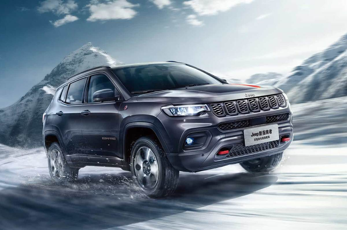 Jeep Compass Facelift - Upcoming Car Launches in India for January 2021