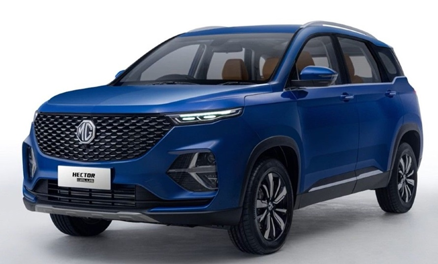 6 and 7 seater mg hector plus