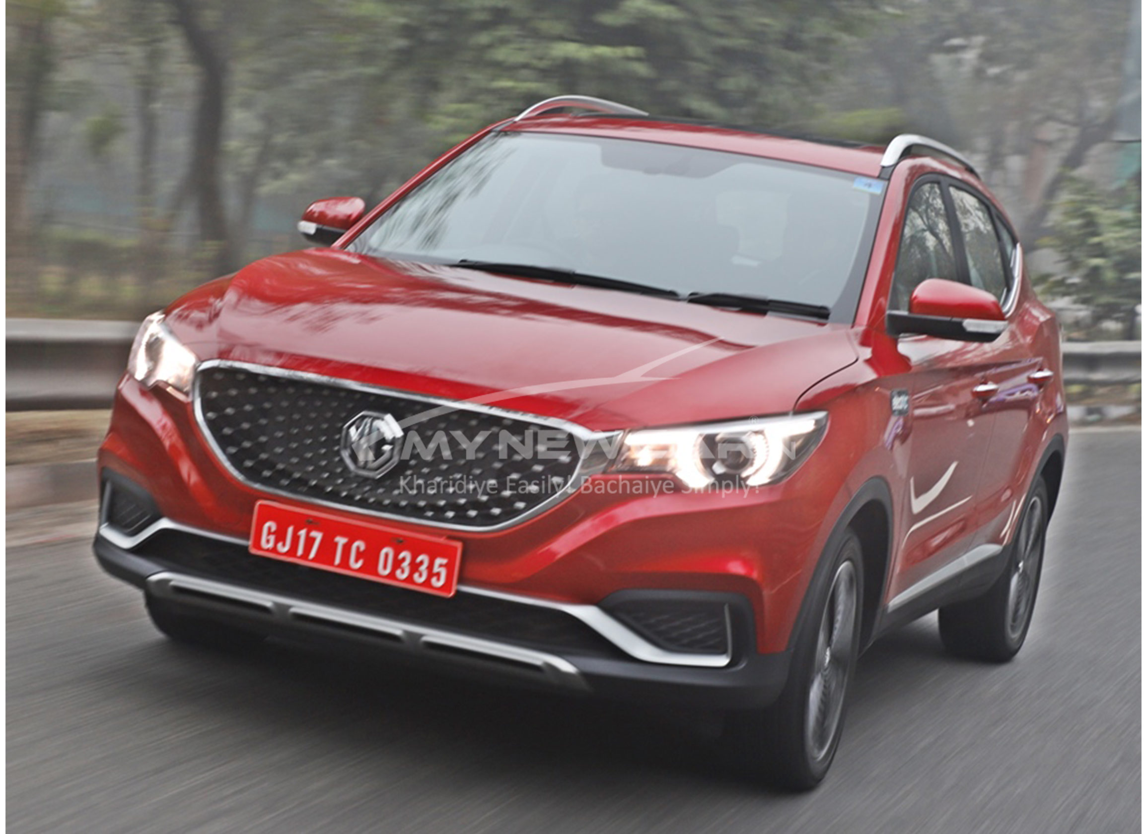 mg zs electric car image