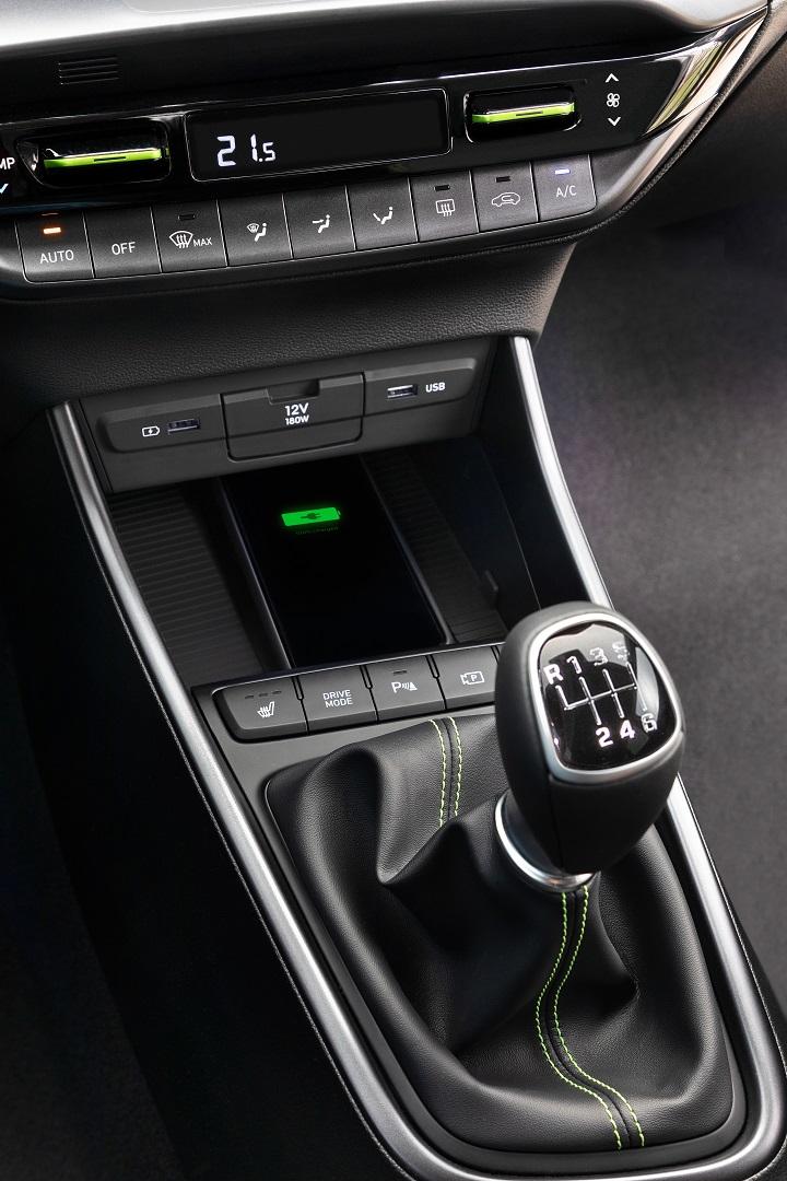 new-2020-hyundai-i20-interior-gearlever