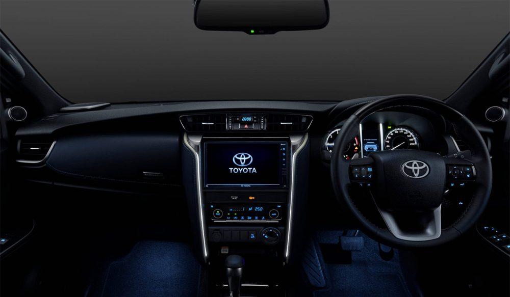 2021 Toyota Fortuner Legender Features
