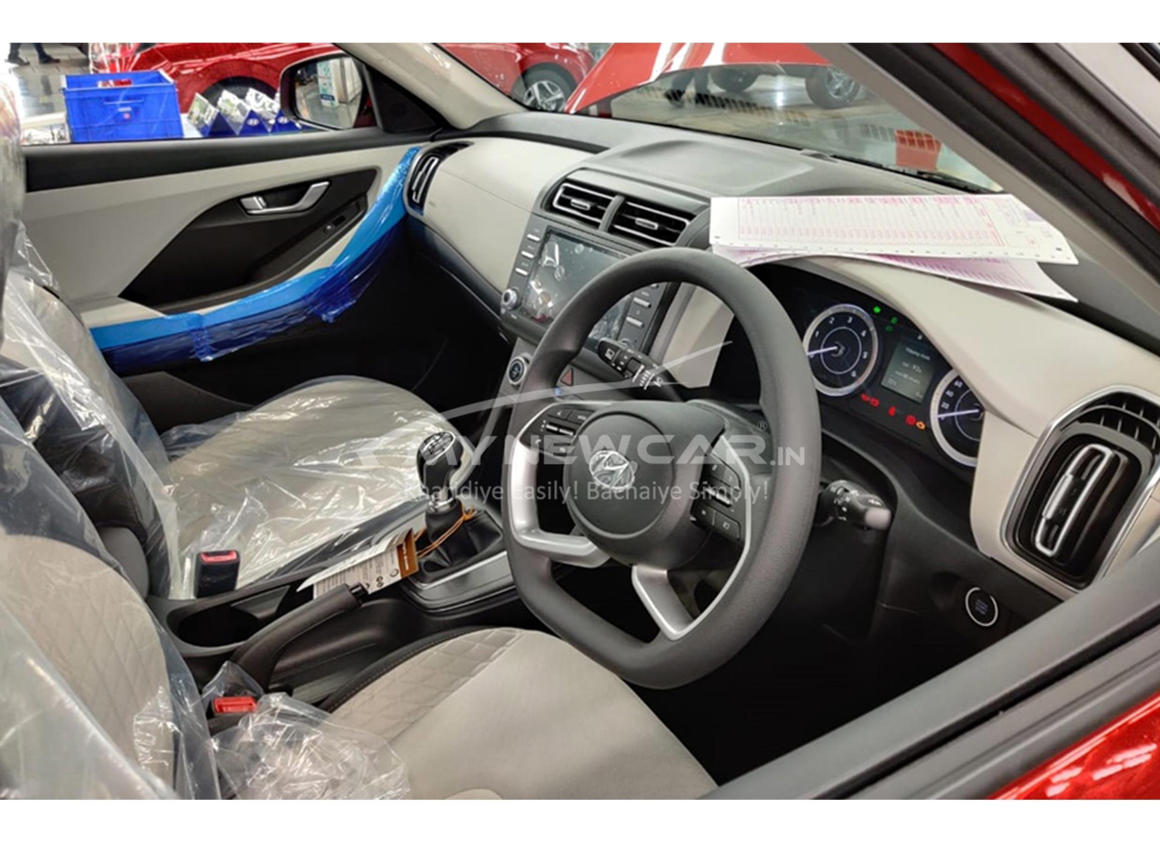 New Hyundai Creta interior