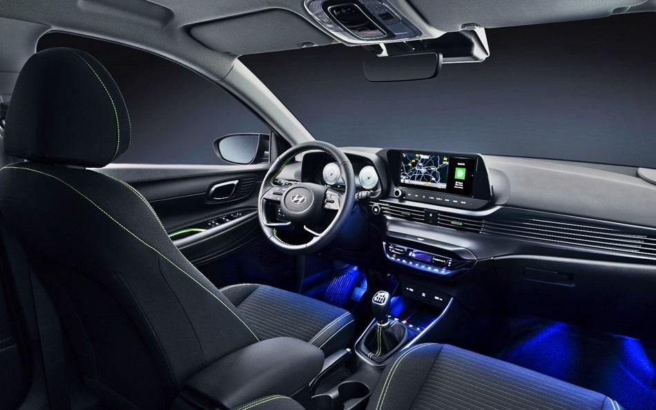 new hyundai i20 2020 interior image