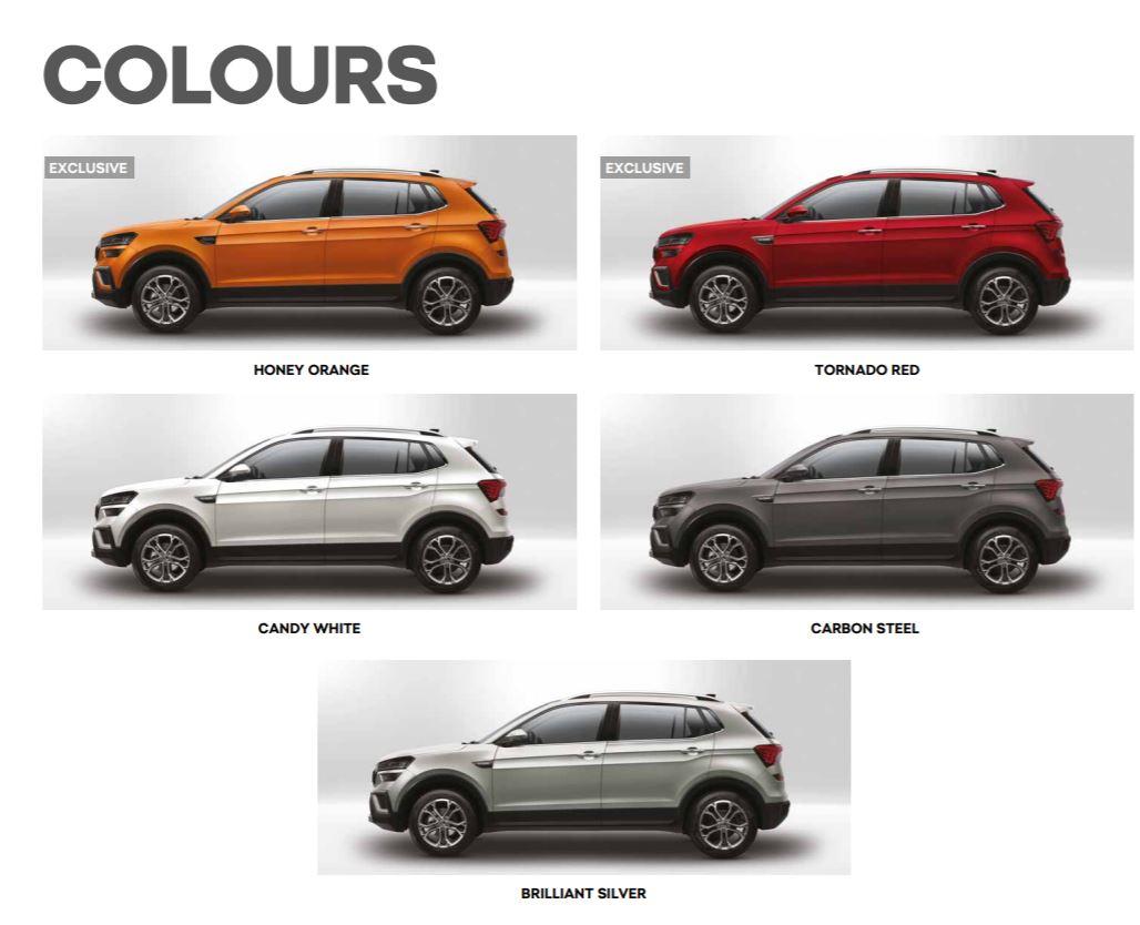 2021 Skoda Kushaq Brochure - All Colour Options