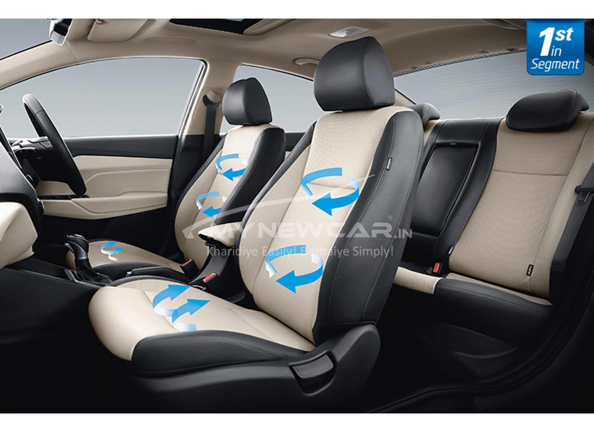 New Hyundai Verna 2020 interior