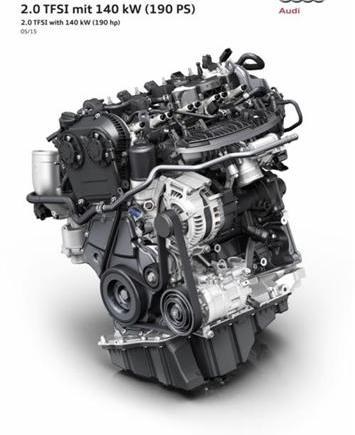 Audi unveils new 188 BHP 2.0 Litre engine