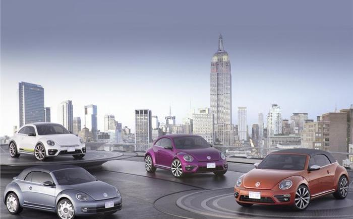 Volkswagen launches four new Beetle concepts