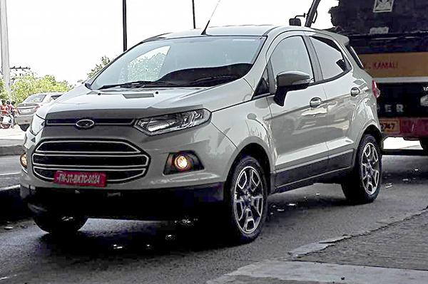 Ecosport updated version spotted