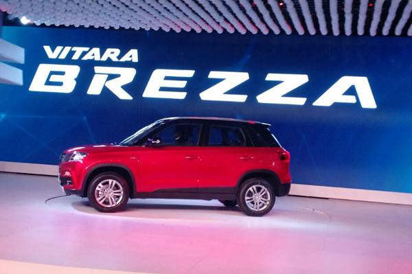 Maruti Unveils Vitara Brezza at 2016 Indian Auto Expo