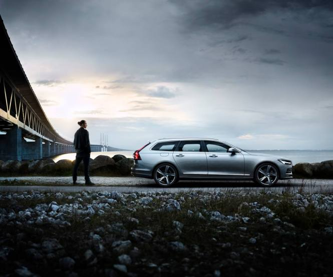 Zlatan Ibrahimovic Says Goodbye To Swedish National Football Team In New Volvo V90