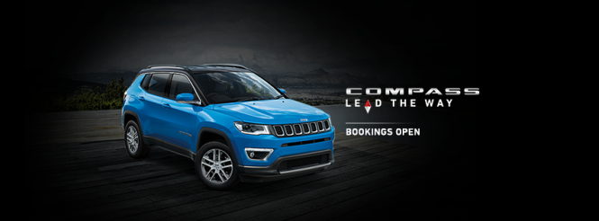 Jeep Compass Bookings Open; Expected Price, Features & Specifications