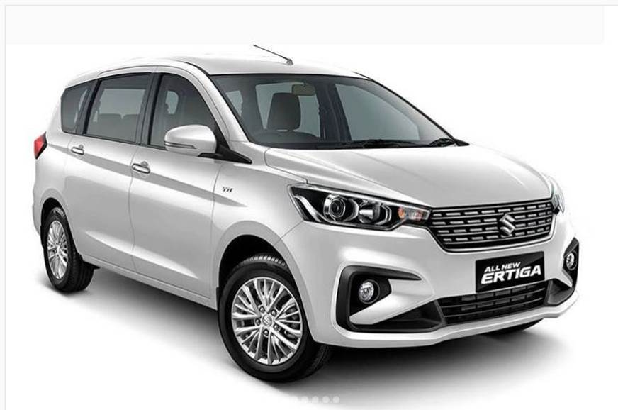 Upcoming Maruti Suzuki Ertiga spotted testing in India
