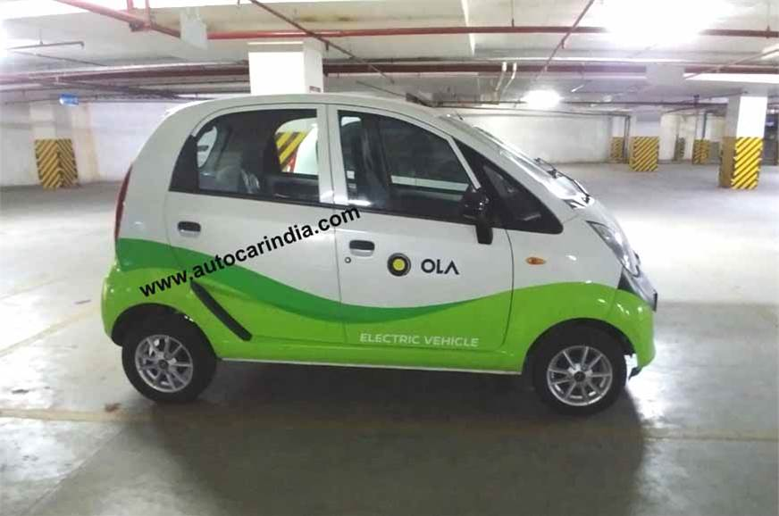 Jayem Neo EV which is based on a Tata Nano has been spotted in Hyderabad