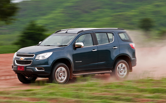 Testing of Chevrolet SUV , Trailblazer begins in India