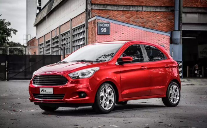 2016 Ford hatchback spotted
