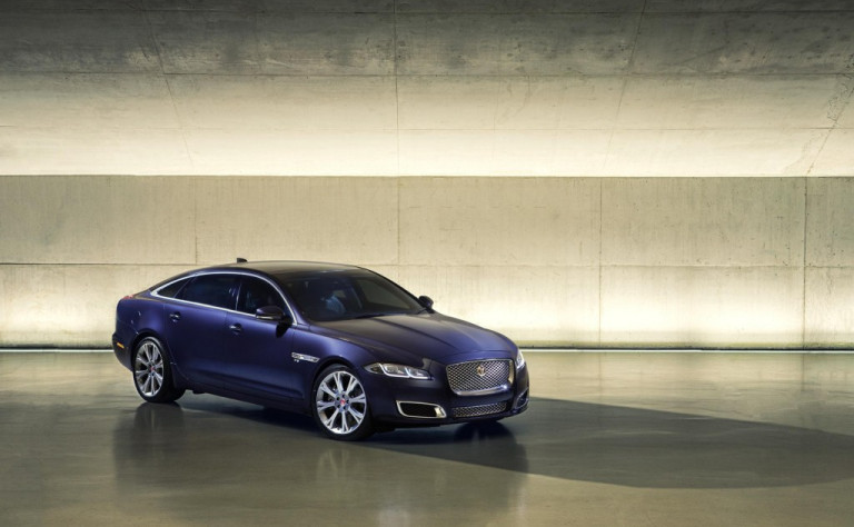 2016 Jaguar XJ in India for homologation purposes