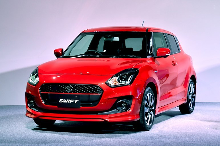 The 2017 Suzuki Swift has been unveiled