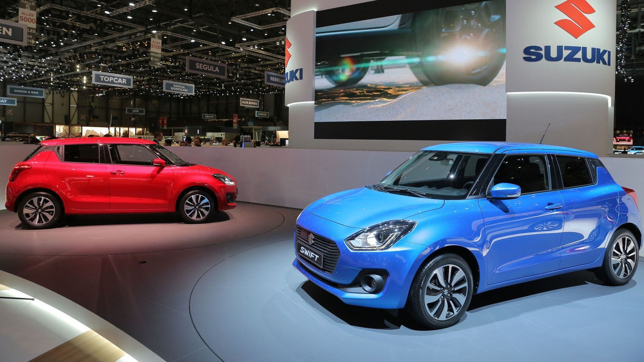New Generation (Maruti) Suzuki Swift showcased at 2017 Frankfurt Motor Show