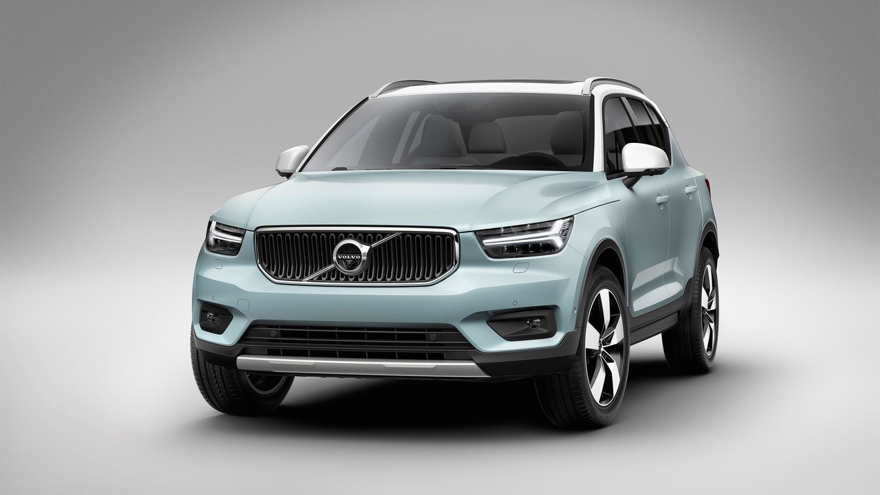 Volvo XC40 SUV ( India- Bound ) revealed