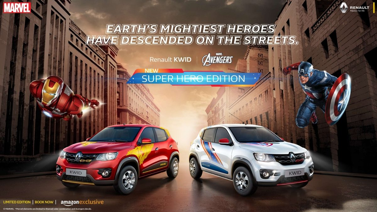 Renault Kwid Superhero Edition Launched In India