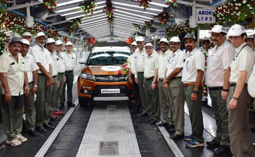 Maruti Suzuki crosses 20 million production milestone