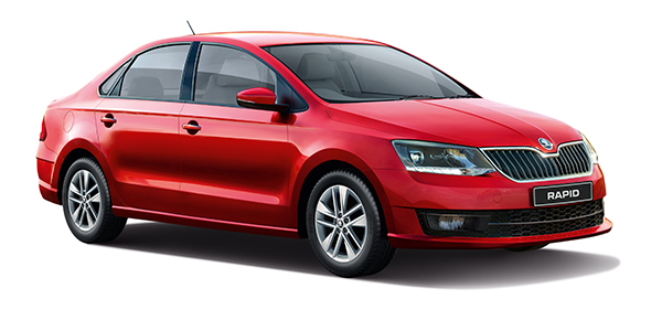 Skoda Updates Rapid Style Trim With Four Airbags