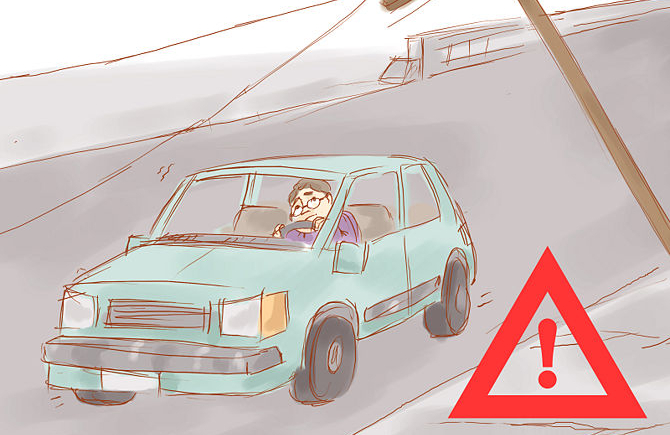 How to survive and earthquake in a car