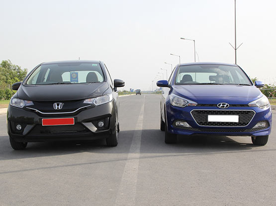 Car Comparison : Honda Jazz v/s Hyundai Elite i 20 (Diesel)