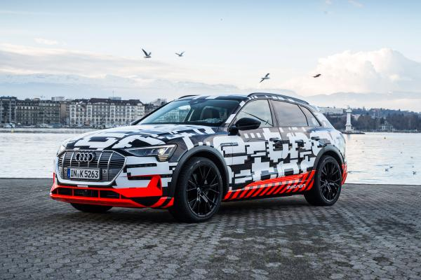 Audi Reveals The E-Tron Prototype At The 2018 Geneva Motor Show