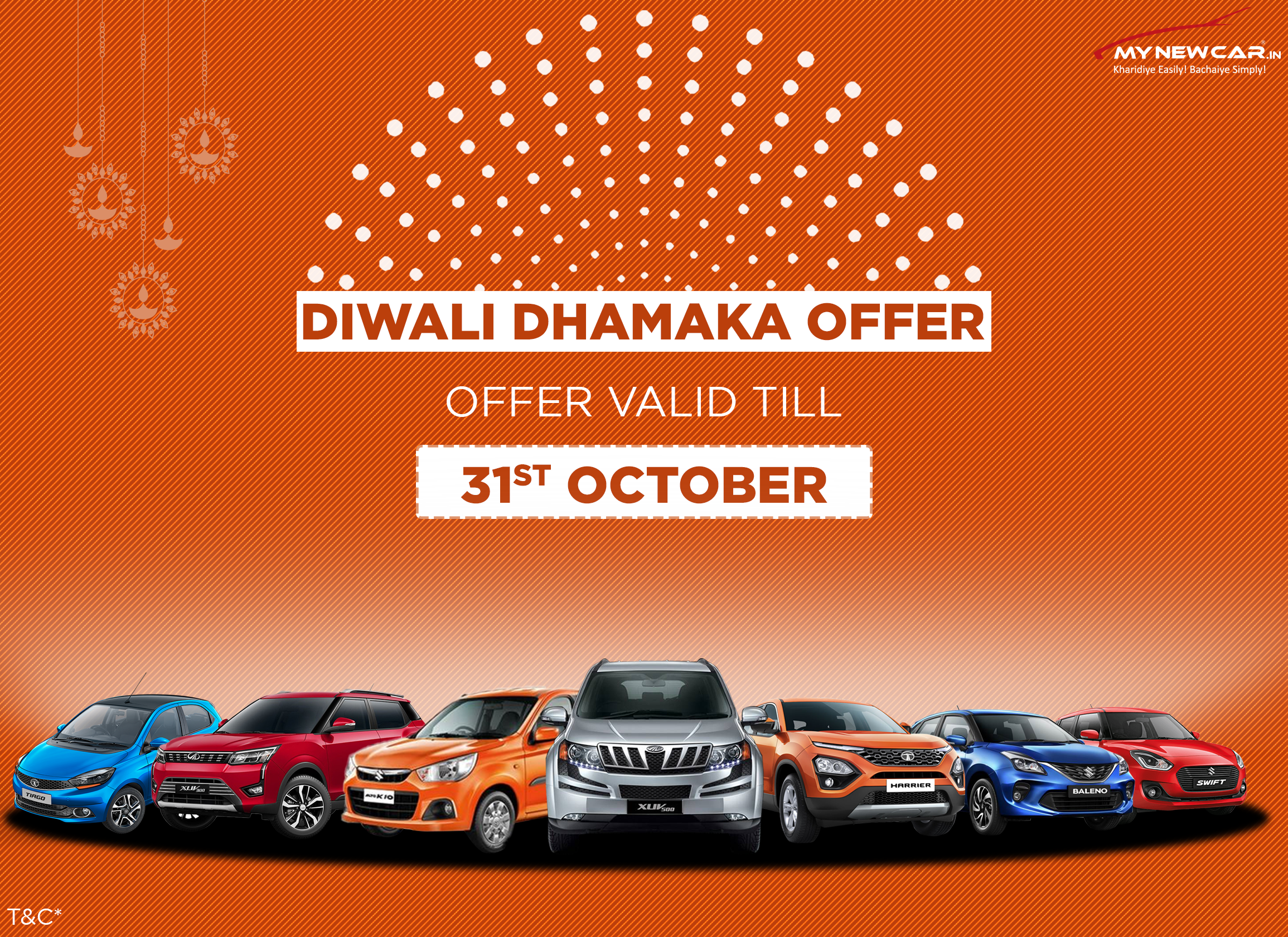 Festival Offers on New Cars on October 2019