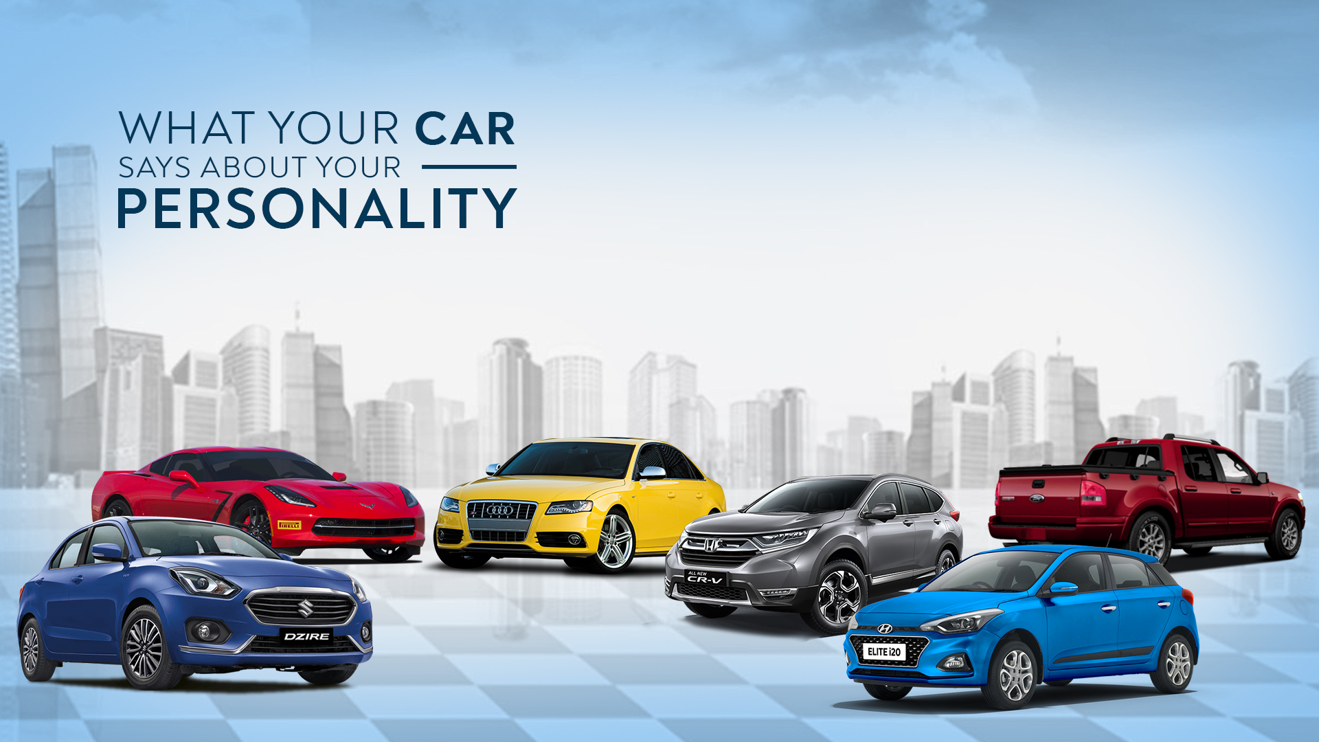 What Does Your Car Say About Your Personality?