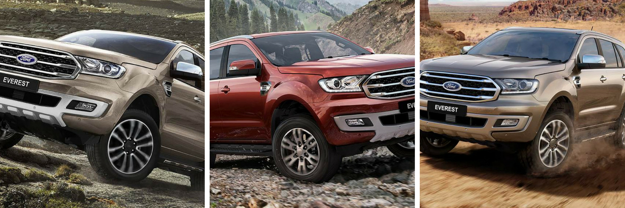 Ford Endeavour (Everest) facelift unveiled