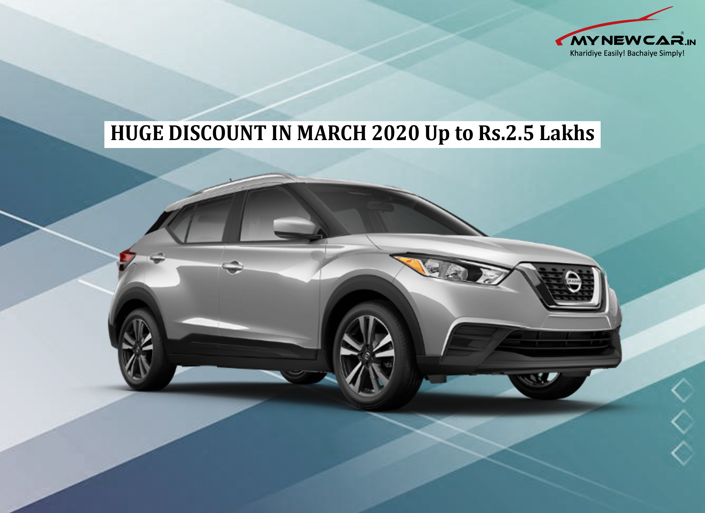 HUGE DISCOUNT THIS MARCH 2020 ON NISSAN KICKS