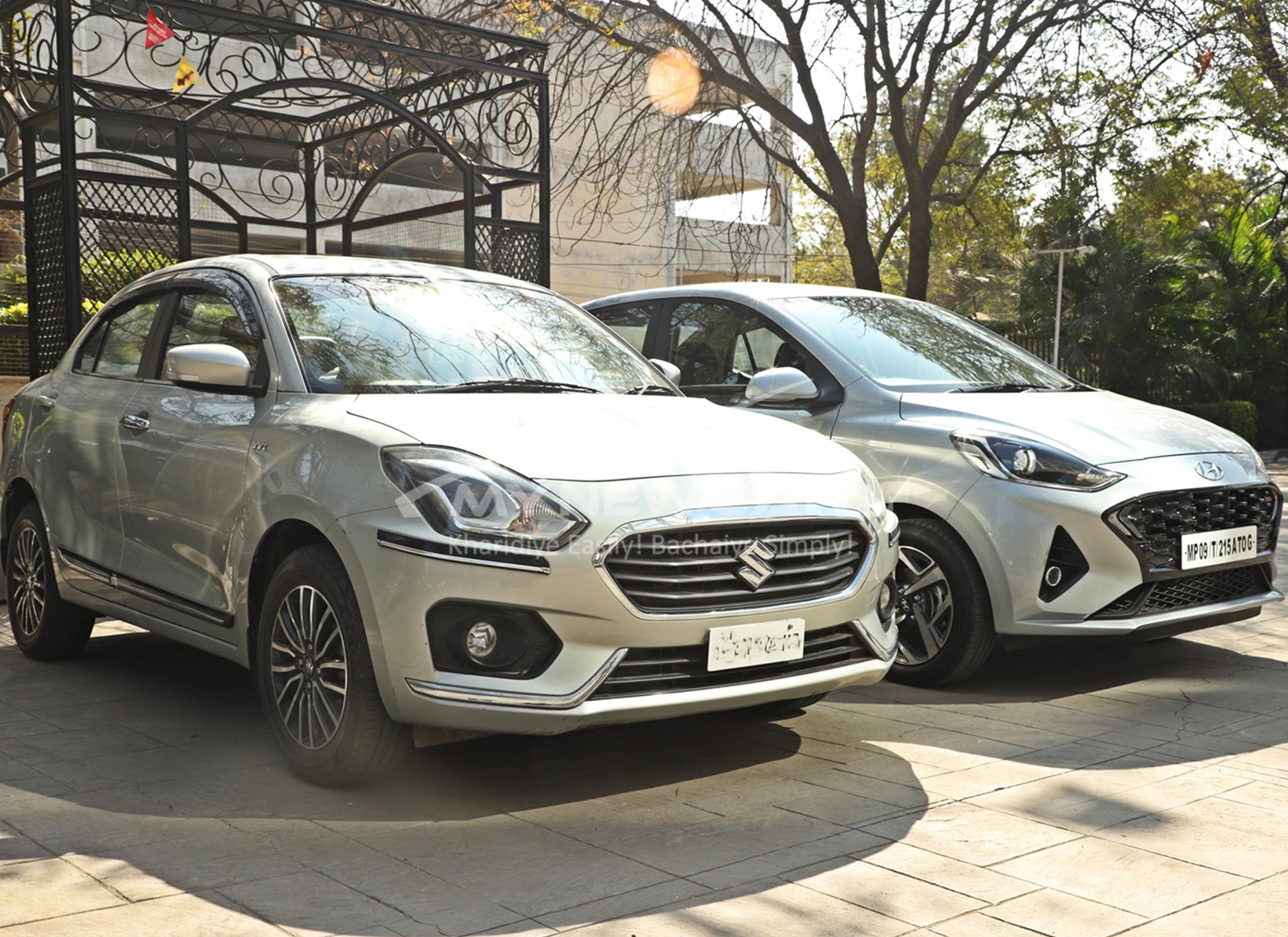 Car Comparison : Maruti Dzire vs Hyundai Aura