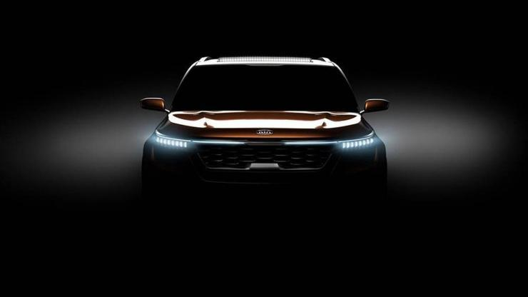 KIA Teases Images Of Its SP Concept Will Make Debut At The 2018 Auto Expo