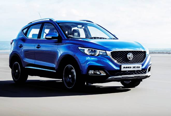 MG MOTOR UNVEILS ZS EV, LAUNCH IN JAN 2020