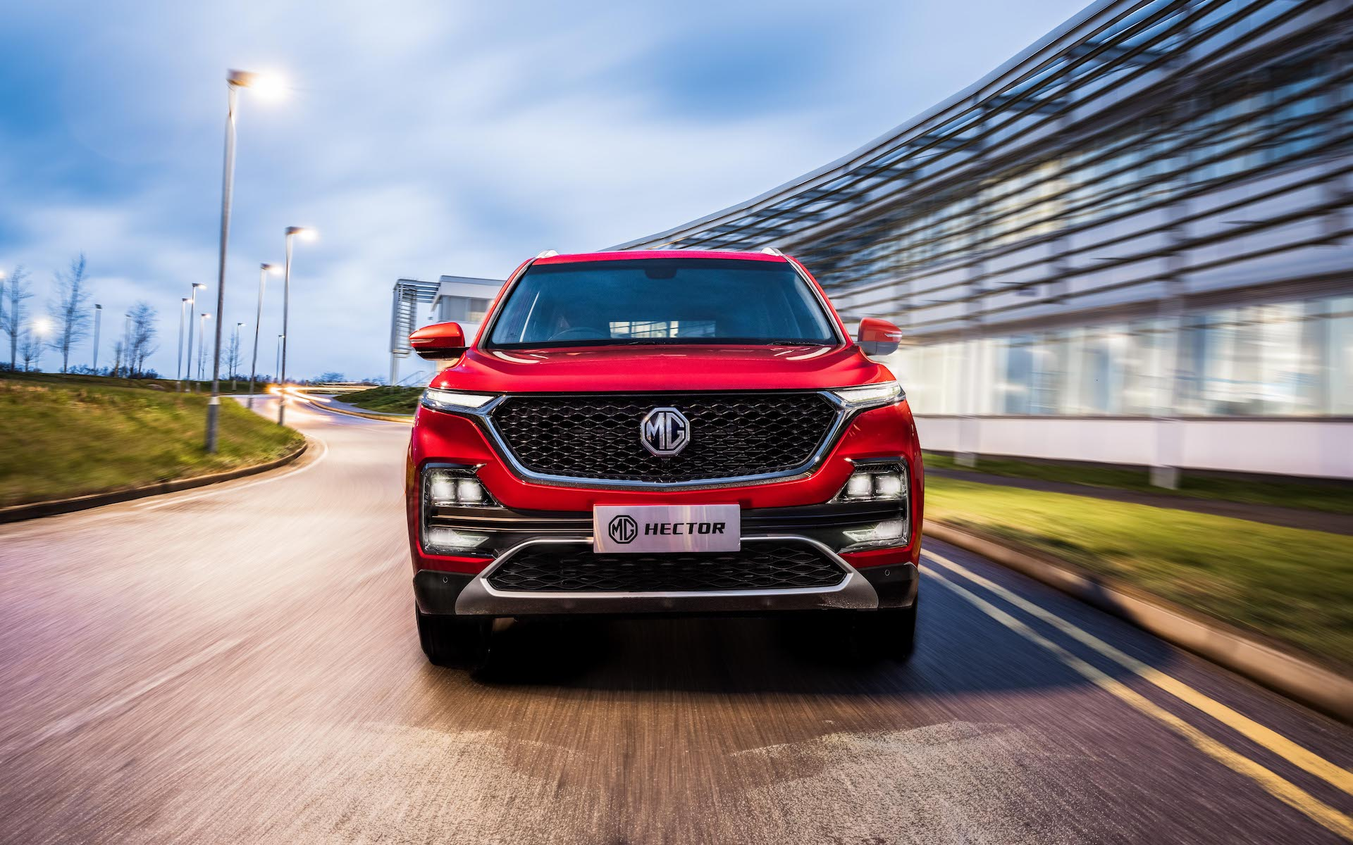 MG Motors officially reveals the Hector for the Indian market before its official launch