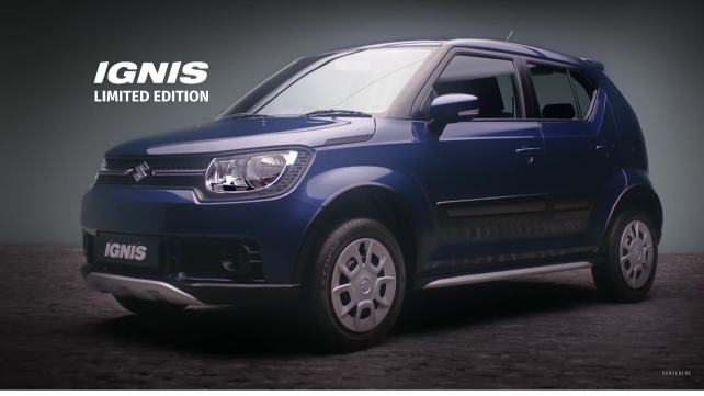 Launched: Limited Edition Maruti Ignis