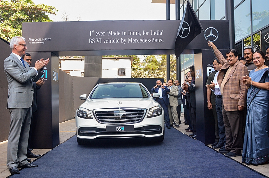Mercedes-Benz Unveils Its First New BS-VI Compliant Engine