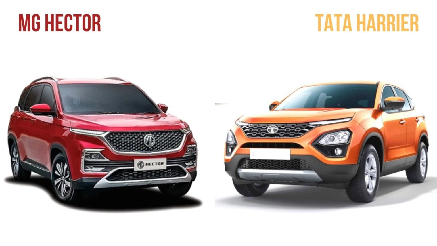 The Ultimate Comparison: Mg Hector Vs Tata Harrier Vs Jeep Compass