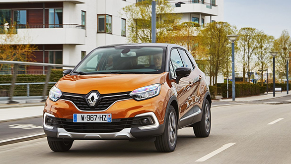 Renault unveils Captur and starts bookings in India