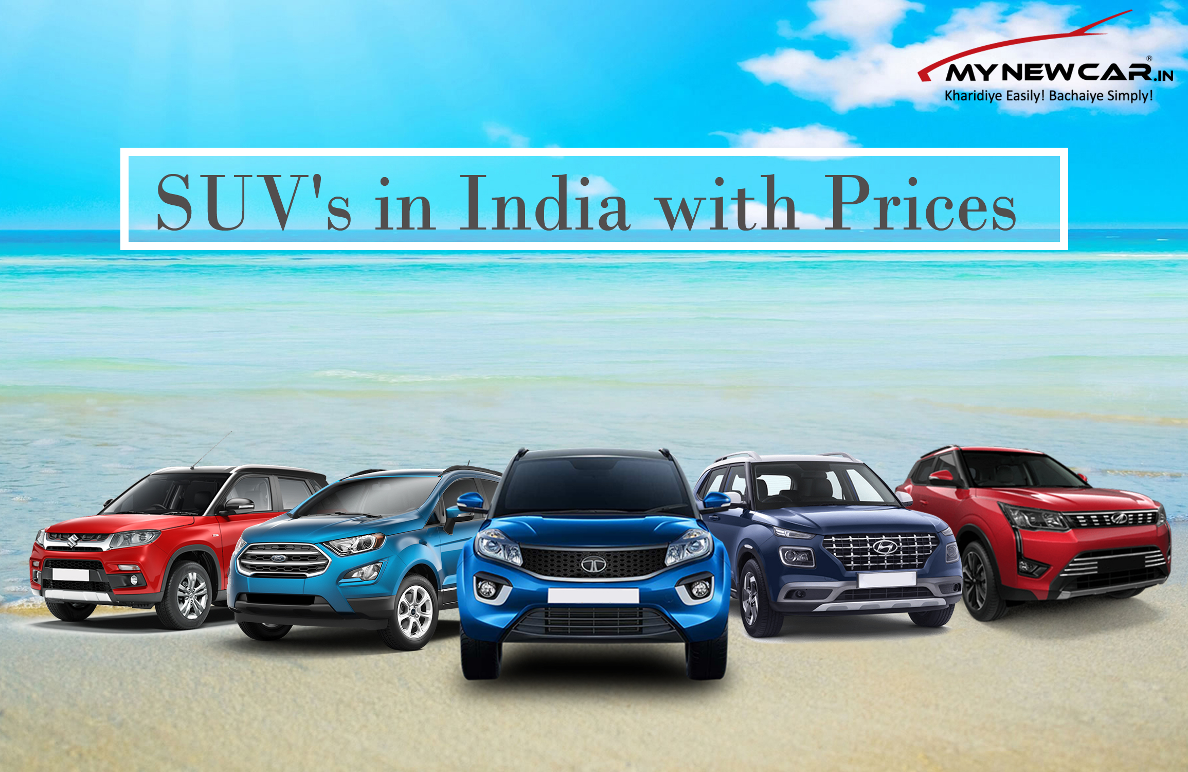 Detailed Comparison of Top SUV's in India with Prices